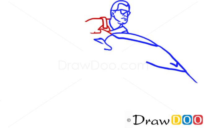 how to draw michael jordan step by step
