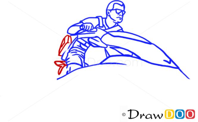 How to Draw Michael Jjetski, GTA