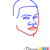 How to Draw Franklin Easy, GTA