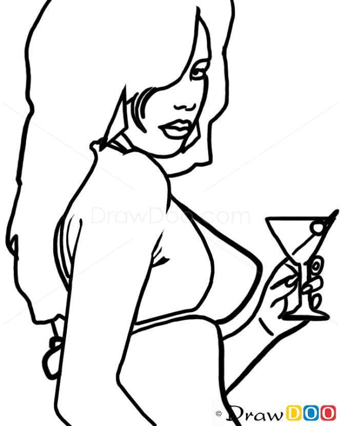 How To Draw Lola Del Rio GTA