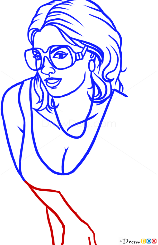 How to Draw Sexy Girl, GTA