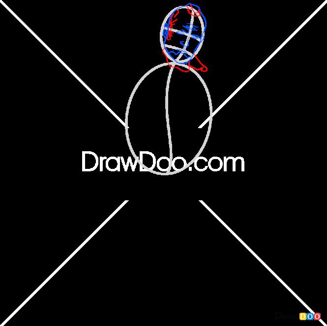 How to Draw Yondu, Galaxy Guardians