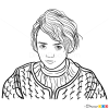 How to Draw Arya Stark, Game Of Thrones
