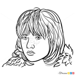 How to Draw Bran Stark, Game Of Thrones