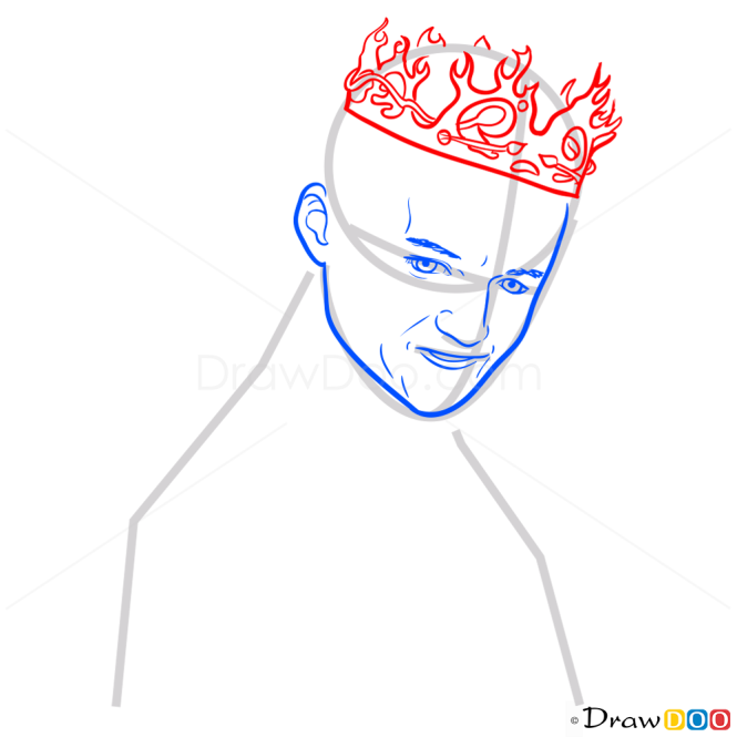How to Draw Joffrey Baratheon, Game Of Thrones