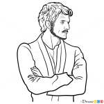 How to Draw Oberyn Martell, Game Of Thrones