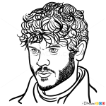 How to Draw Ramsay Bolton, Game Of Thrones