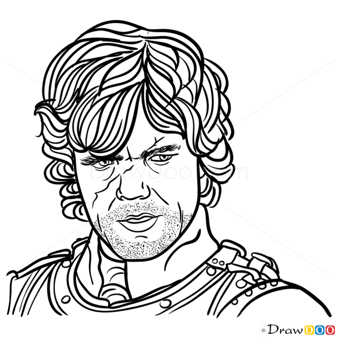 How to Draw Tyrion Lannister, Game Of Thrones
