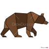 How to Draw Bear, Geometric Animals