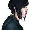 How to Draw Scarlett, Ghost in the Shell