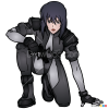 How to Draw Major 5, Ghost in the Shell