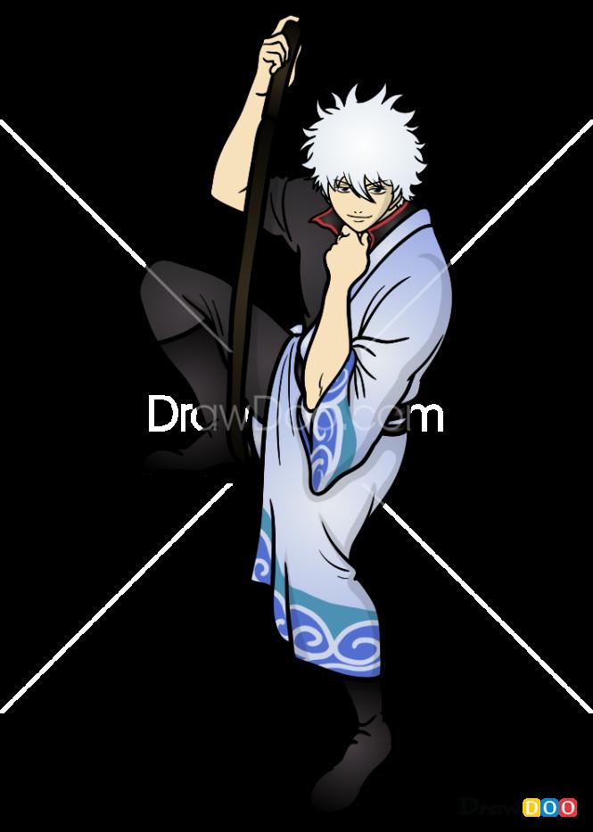 How to Draw Sakata Gintoki, Gintama