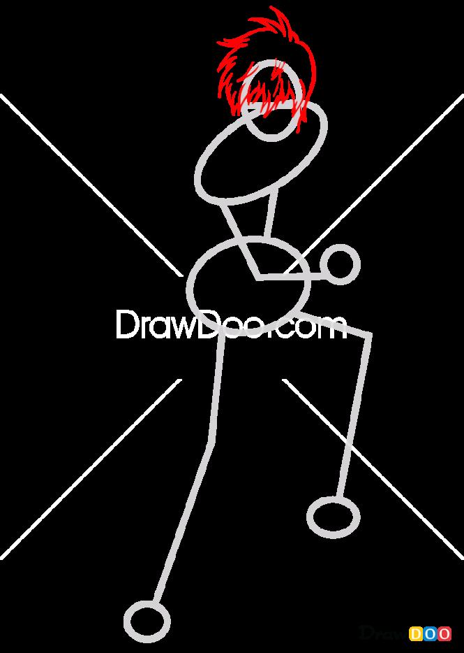 How to Draw Okita Sougo, Gintama