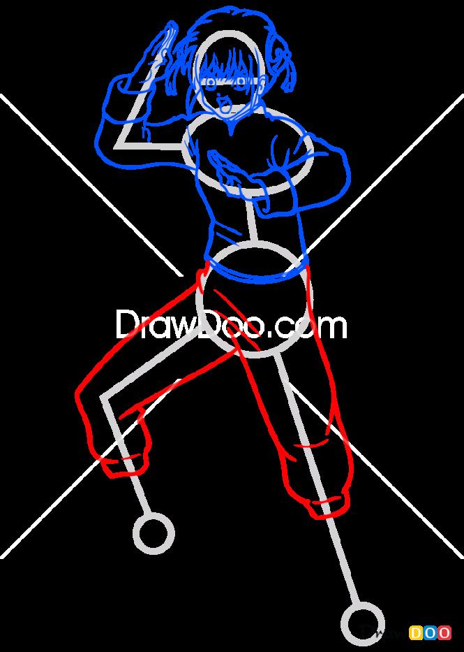 How to Draw Kagura, Gintama