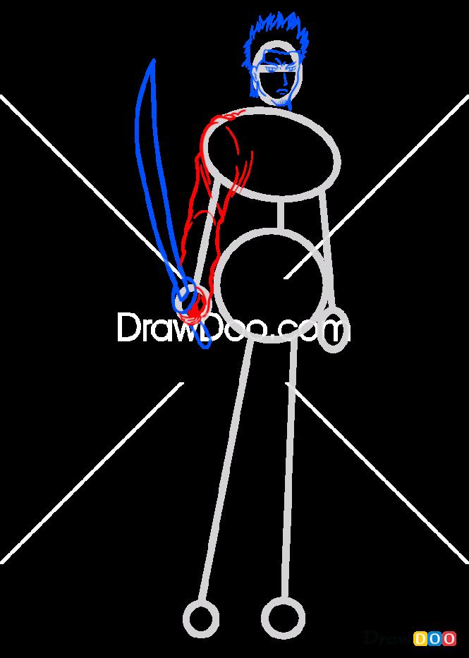 How to Draw Kondo Isao, Gintama