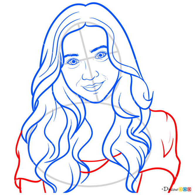 How to Draw Riley Matthews, Girl Meets World