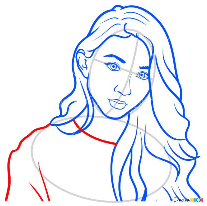 How to Draw Riley, Girl Meets World
