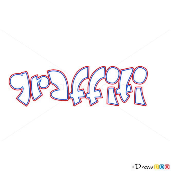 How to Draw Graffiti, Graffiti