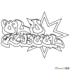 How to Draw Old School, Graffiti