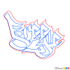 How to Draw Freestyle, Graffiti