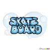 How to Draw Skateboard, Graffiti