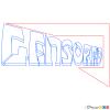 How to Draw Censored, Graffiti
