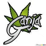 How to Draw Ganja, Graffiti