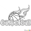 How to Draw Basketball  GraffitiBasketball Drawings Step By Step