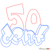 How to Draw 50 Cent, Graffiti