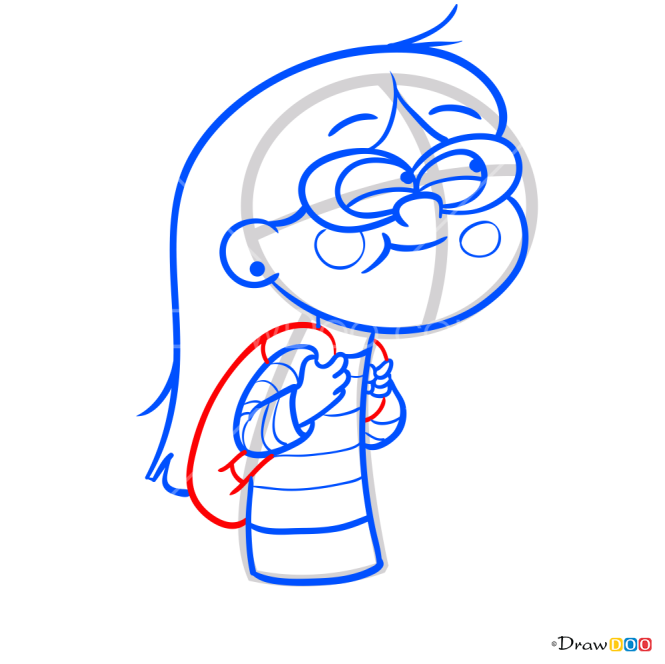 How to Draw Candy Chiu, Gravity Falls