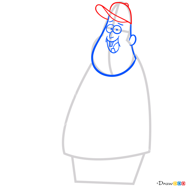 How to Draw Soos Ramirez, Gravity Falls