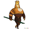 How to Draw Sohone, Guardian of the Moon