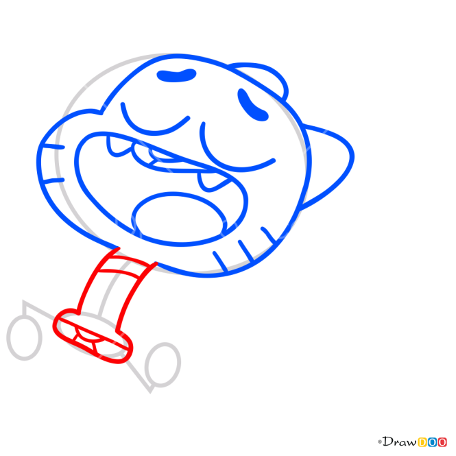 How to Draw Gumball, Gumball
