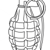 Guns Technical Drawing to Draw Grenade Guns And