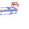 How to Draw Rocket Launcher, Guns and Pistols