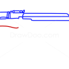 How to Draw AK-47, Guns and Pistols