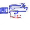How to Draw Colt M4, Guns and Pistols
