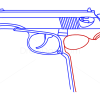 How to Draw Makarov Pistol, Guns and Pistols
