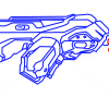 How to Draw Plasma Gun, Guns and Pistols