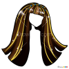 How to Draw Cleo Long Hair, Hairstyles