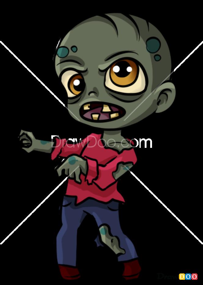 How to Draw Zombie, Halloween
