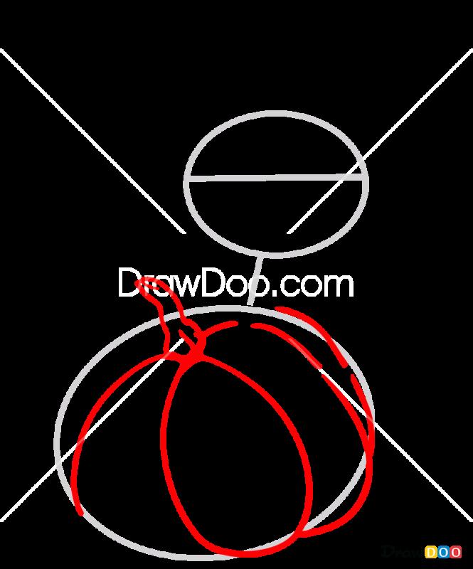 How to Draw Halloween Phantump, Halloween