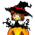 How to Draw Chibi Witch, Halloween