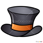 How to Draw Gentleman Hat, Hats