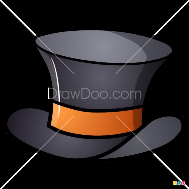 How to Draw Gentleman Hat, Hats