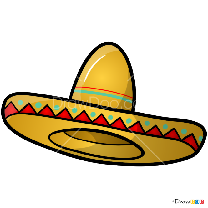 How to Draw Sombrero, Hats