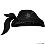 How to Draw Pirate Hat, Hats