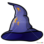 How to Draw Wizard Hat, Hats