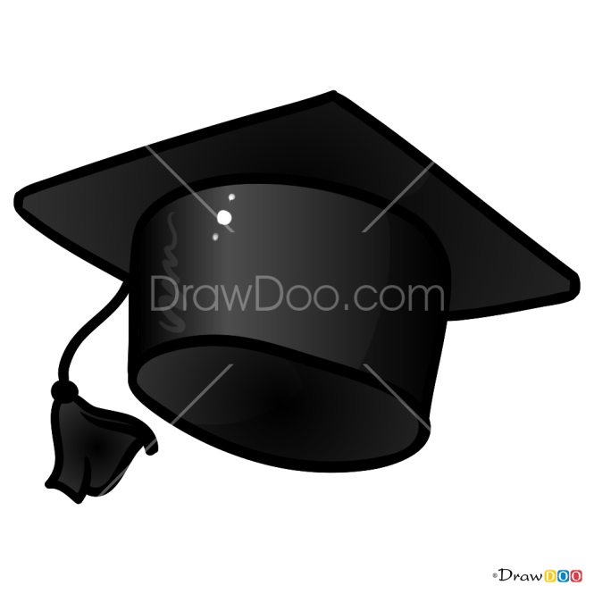 How to Draw Graduate Hat, Hats