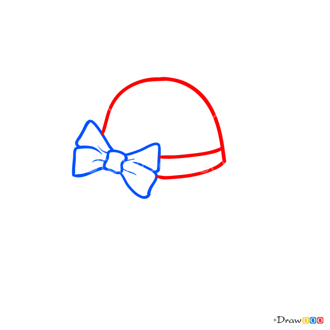 How to Draw Hat with Bow, Hats
